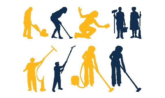 Servicii auxiliare de curatenie